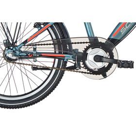 s'cool XYlite 20 3-S Børnecykel steel grå